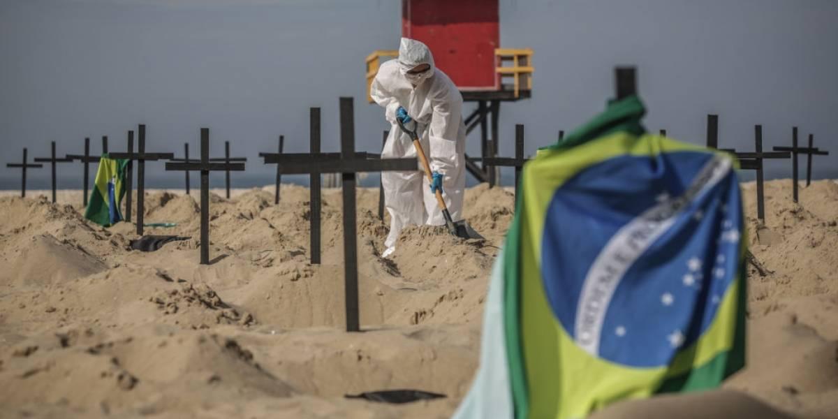 Brasil en la cornisa tras superar el millón de contagios y llegar a las 49.000 muertes por coronavirus