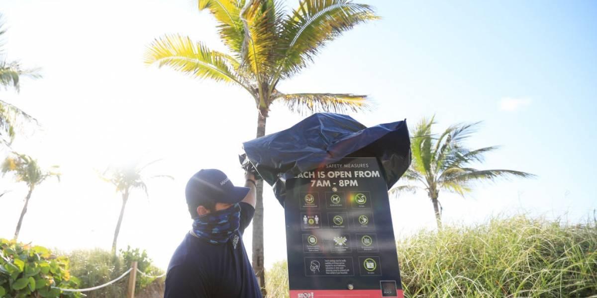 Com recorde de casos, Flórida é o novo epicentro da pandemia nos EUA