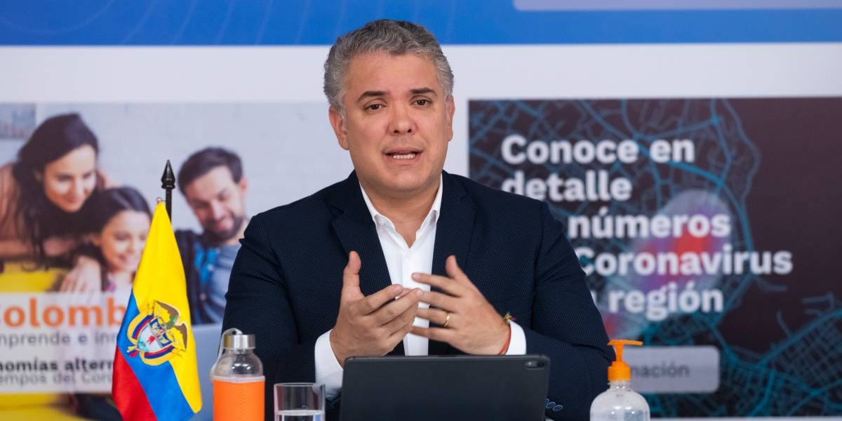 VIDEO | Iván Duque reveló hasta cuándo irá ahora la pandemia en Colombia y qué medidas se tomarán