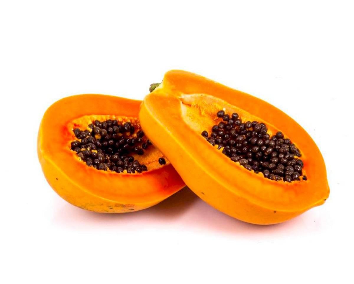 El puré de papaya con azúcar morena es otra receta excepcional