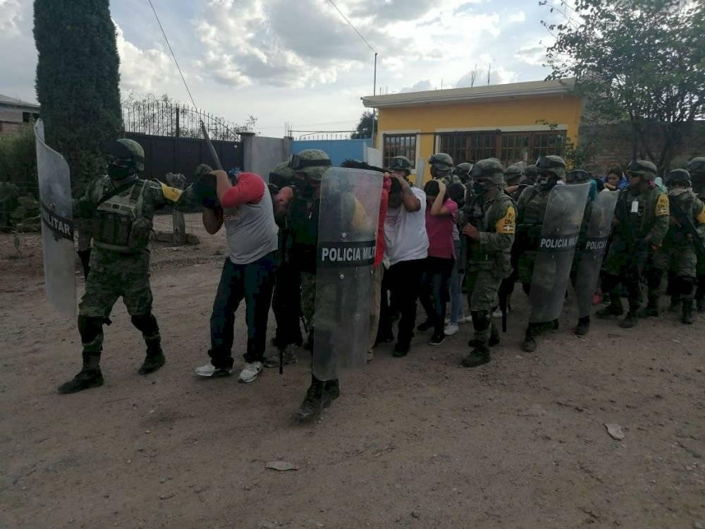 enfrentamiento en Guanajuato