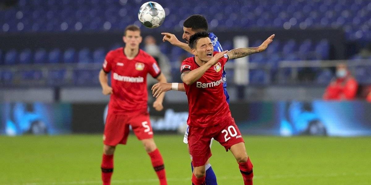 Leverkusen cayó 2-0 ante el Hertha y abandonó la zona de Champions