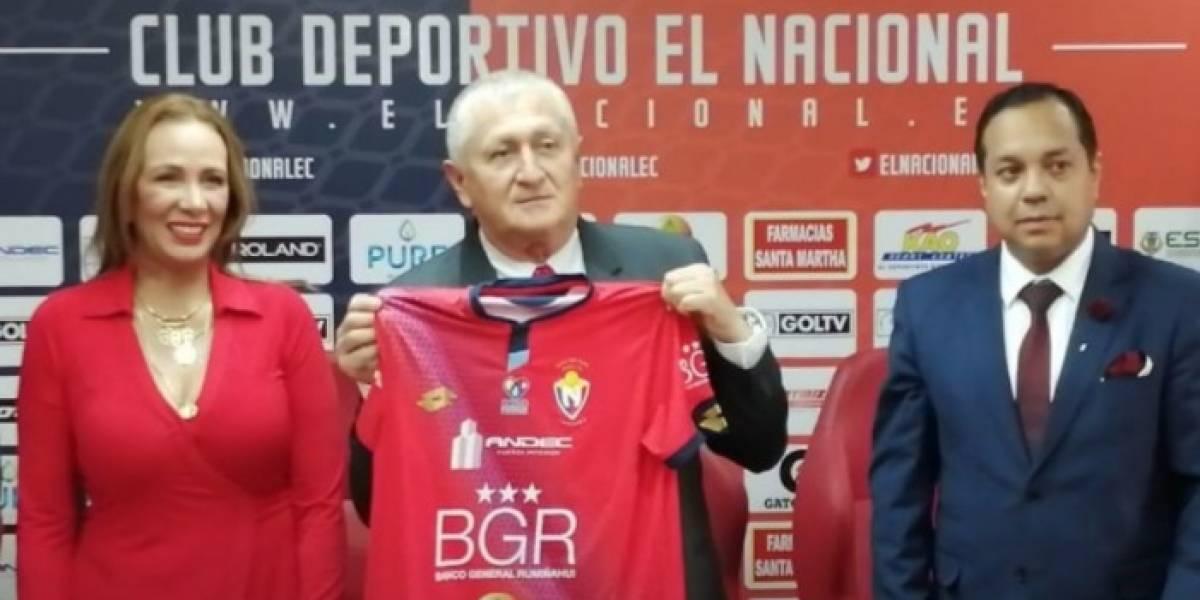 Eduardo Lara deja de ser el DT de El Nacional; Jorge Montesino sería su reemplazo