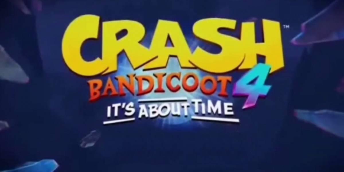 Crash Bandicoot 4: se filtran posibles imágenes y fecha de lanzamiento