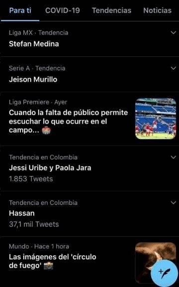 1. Hacen tendencia Stefan Medina por repetición de Colombia VS Chile