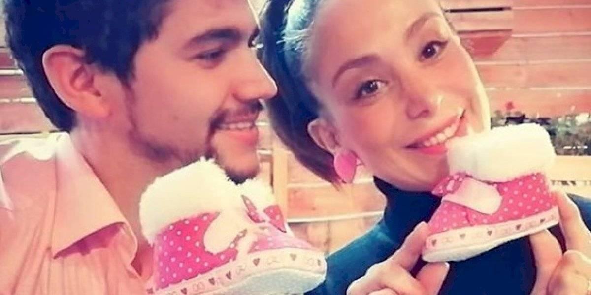 Yamna Lobos se convirtió en mamá por primera vez