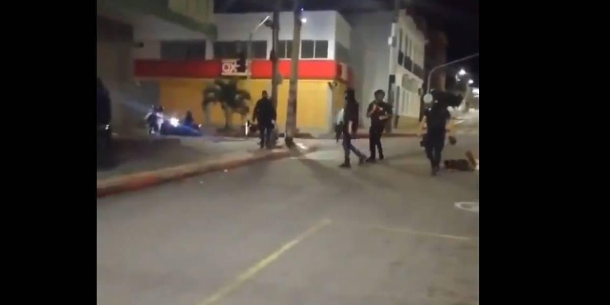 Capturan a encapuchados  que daban golpizas a habitantes de calle