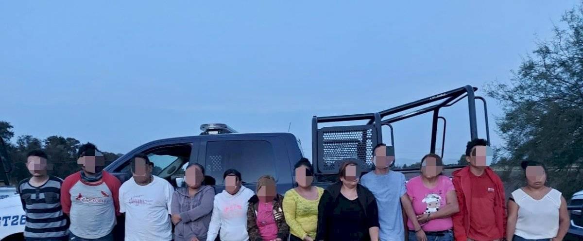 El Marro Celaya detenidos