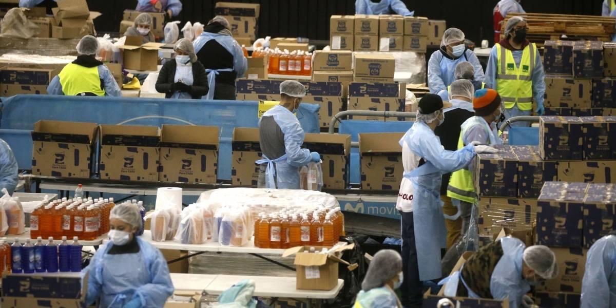 Peleas entre vecinos de Valparaíso por robo de cajas de alimentos