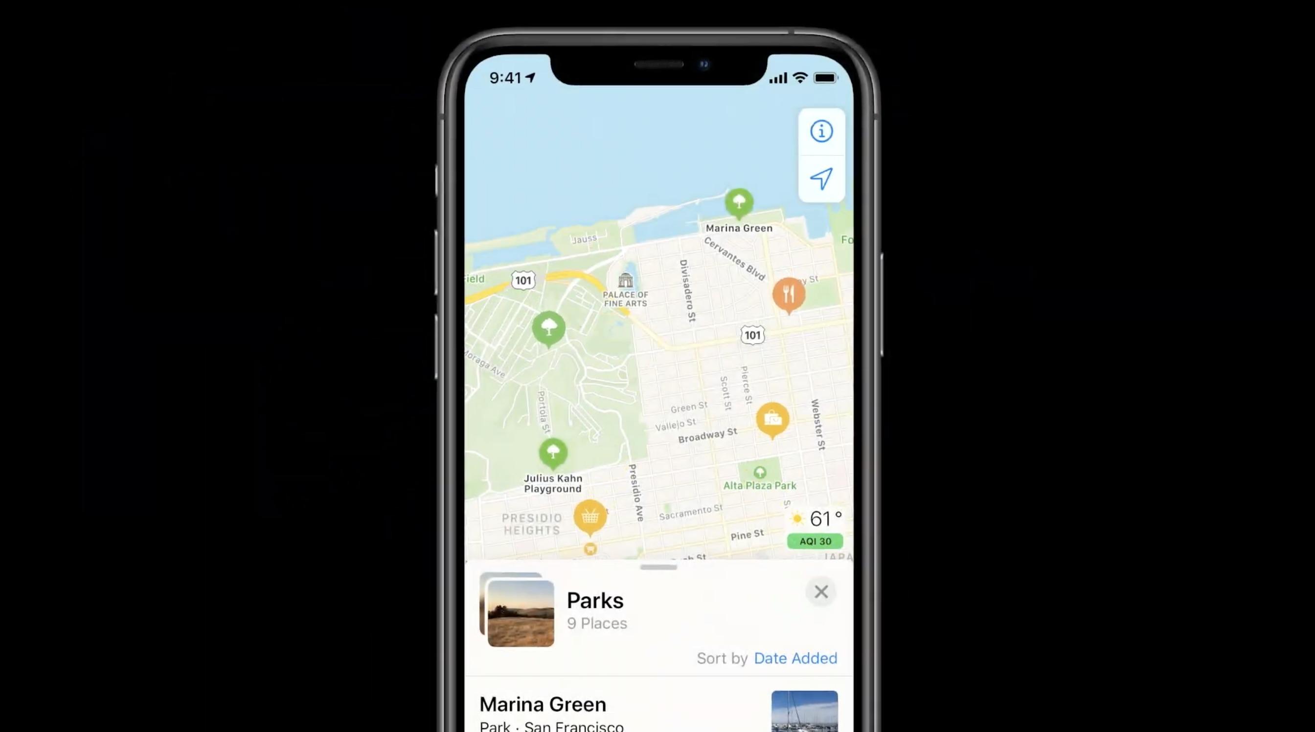maps ios 14 apple