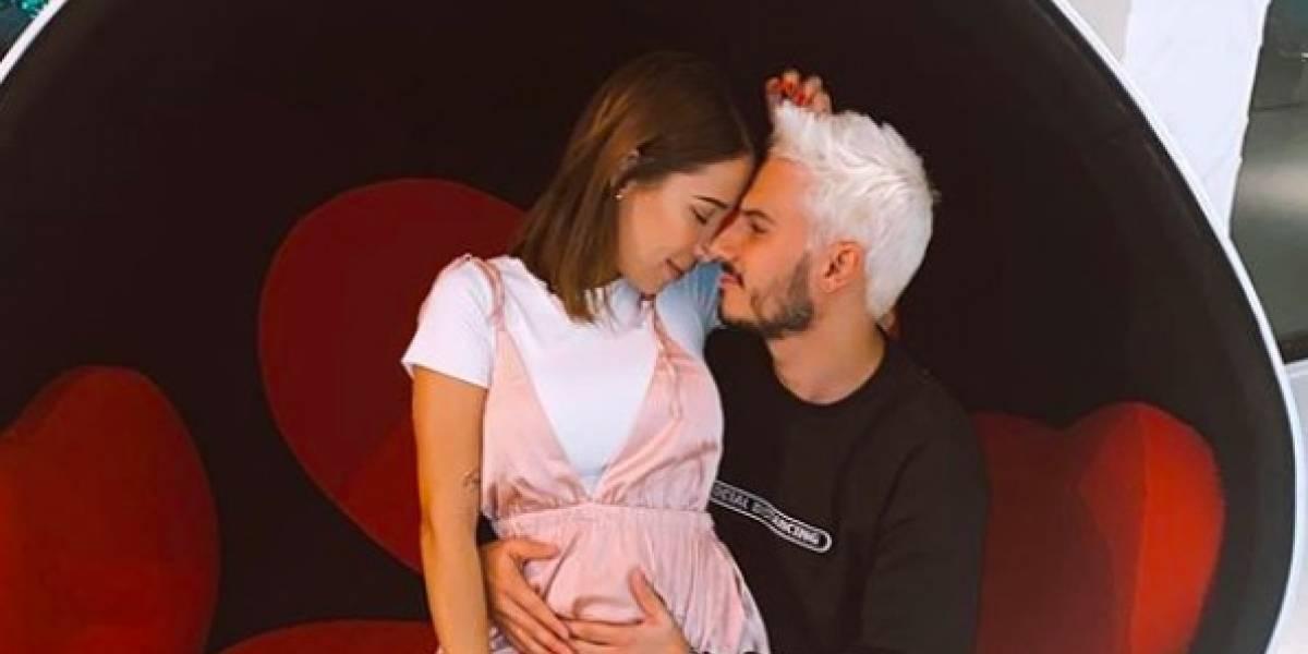 Vestido de embarazada de Luisa Fernanda W se ha robado el show en redes