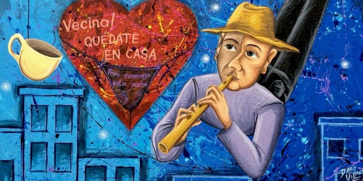 Darío Villasís, crítica y conciencia de la pandemia a través de su arte