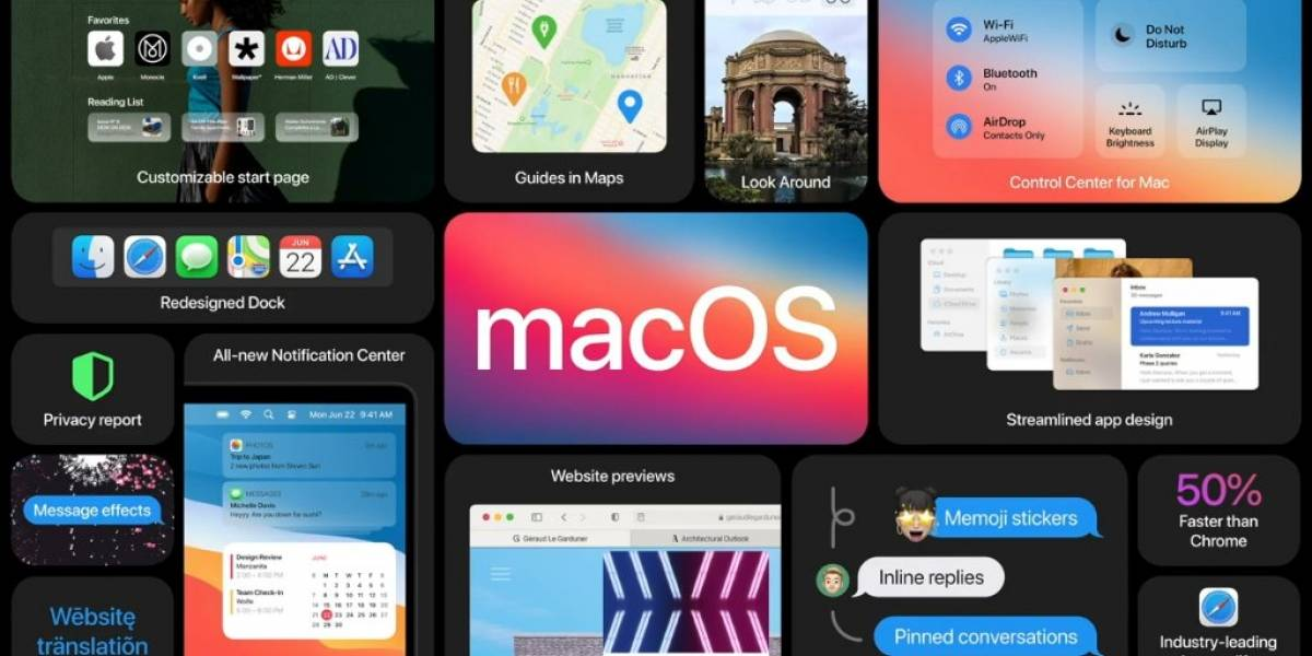 Este es el nuevo Mac OS Big Sur, un gigantesco salto hacia adelante