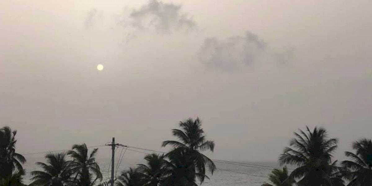 Aprieta hoy el evento por el polvo del Sahara y otra nube se dirige a Puerto Rico