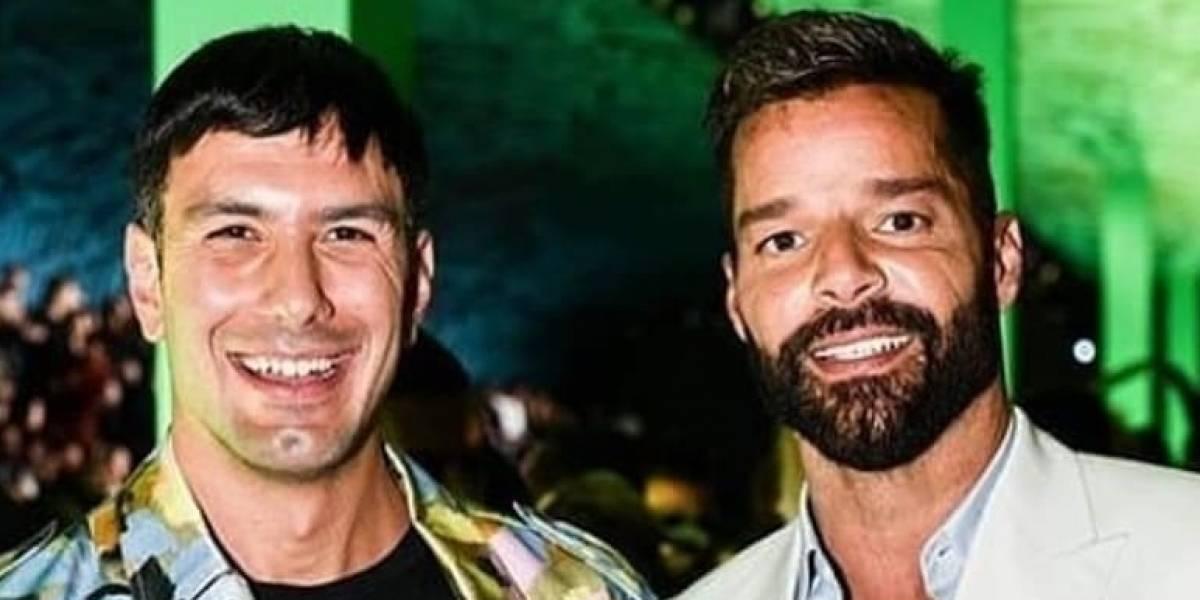 El esposo de Ricky Martin enternece las redes al publicar foto de su hijo Renn jugando