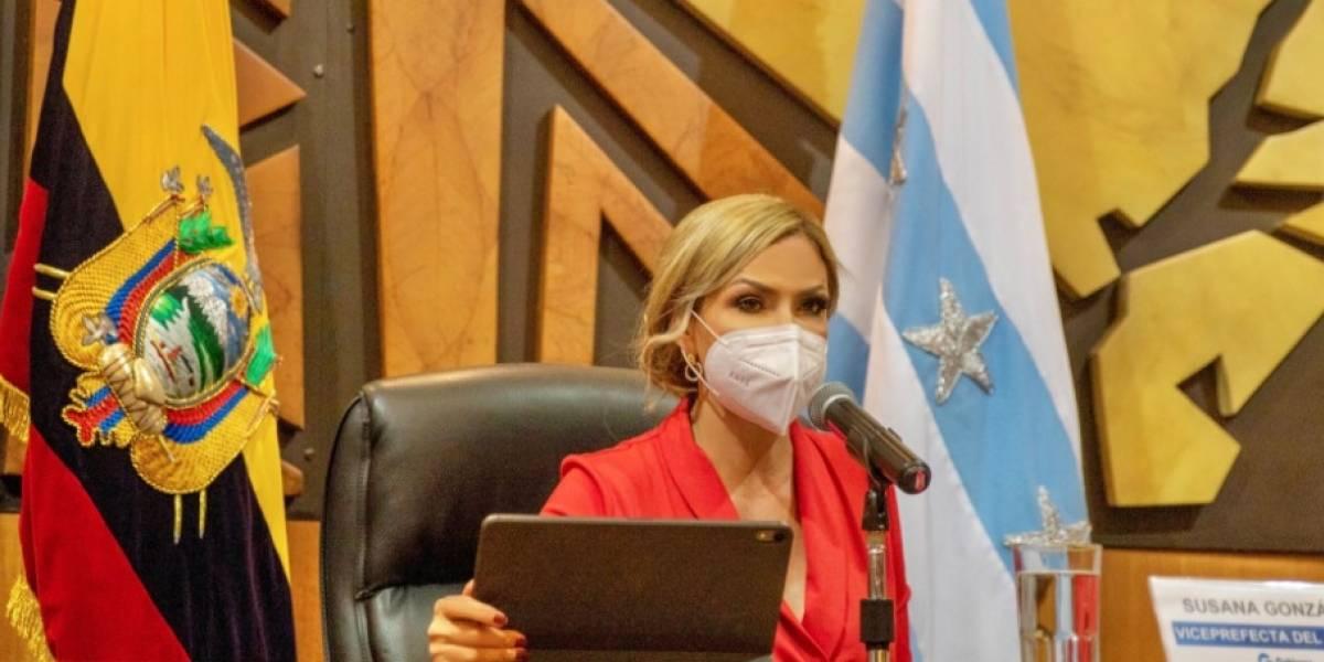 Susana González deberá asumir como Prefecta del Guayas tras muerte de Carlos Luis Morales
