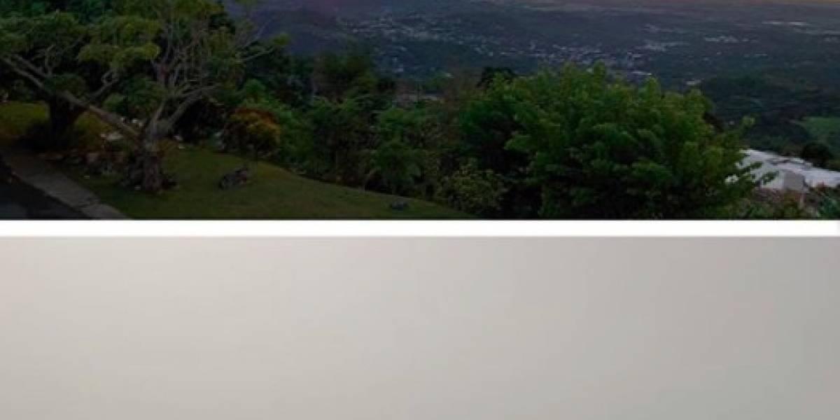 Fotos: Así lucen algunos lugares en Puerto Rico antes y después del polvo del Sahara