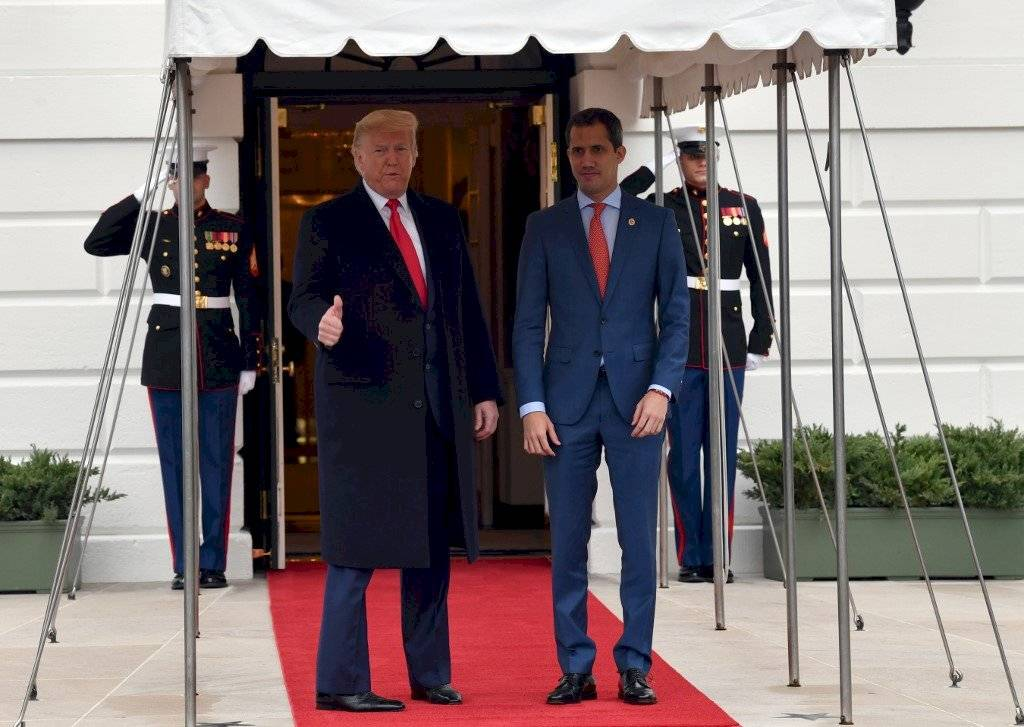 Donald Trump y Juan Guaid