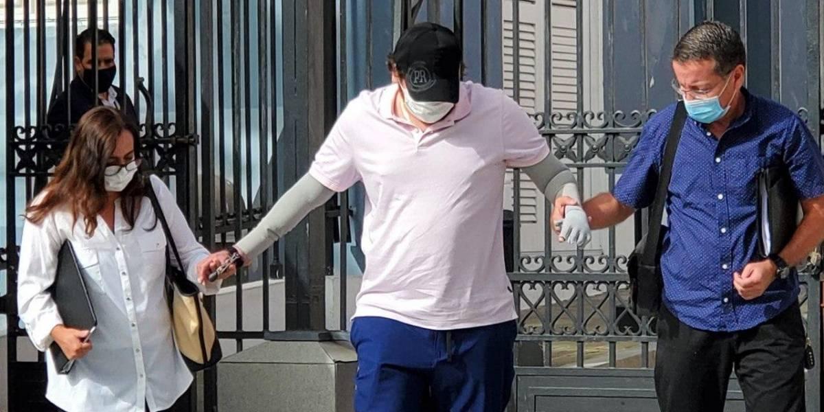 Estudiante de medicina afectado por quemaduras se reúne con la gobernadora