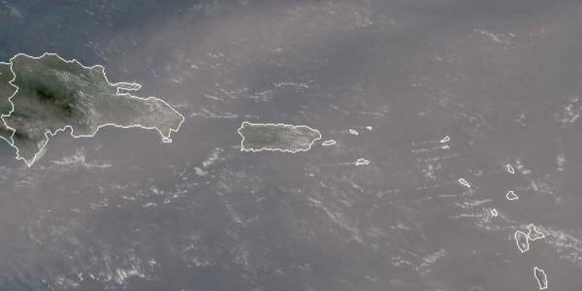 Visibilidad de 5 millas por densa capa de Polvo del Sahara en P. R.