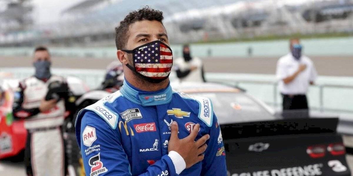 Soga hallada en garaje de piloto negro de NASCAR estaba en el lugar desde el año pasado