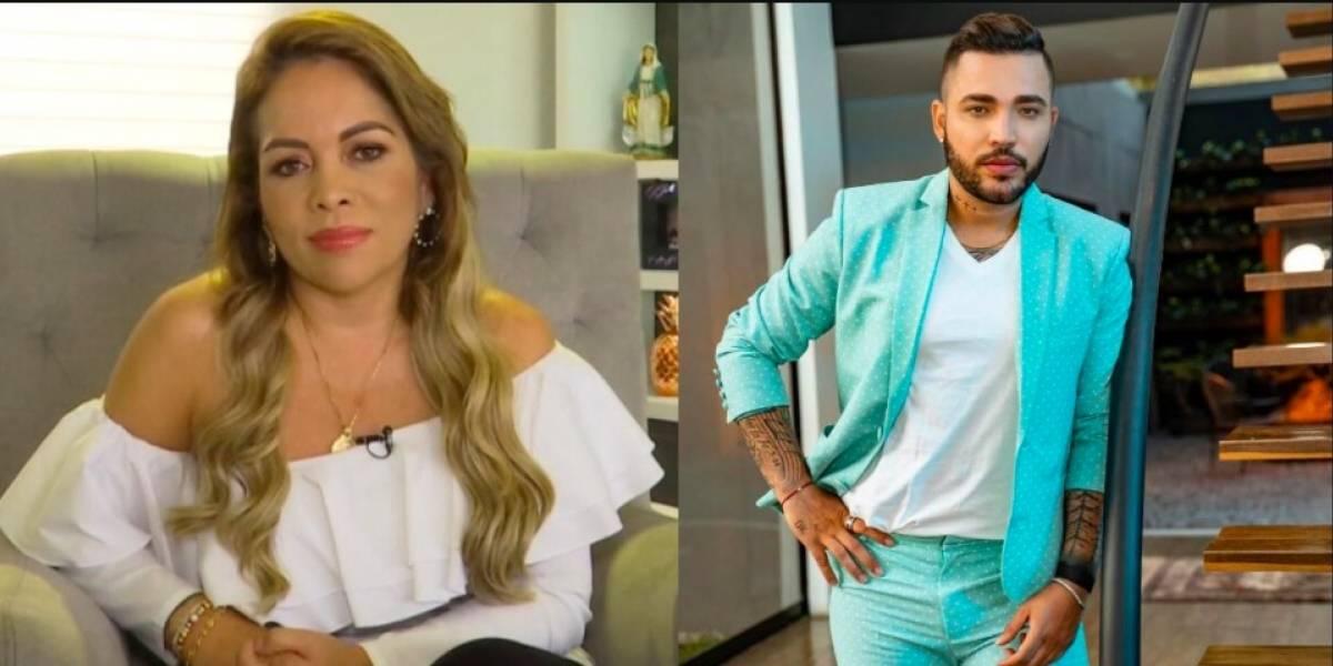 Sandra Barrios publicó nostálgico mensaje, y dicen que es para Jessi Uribe