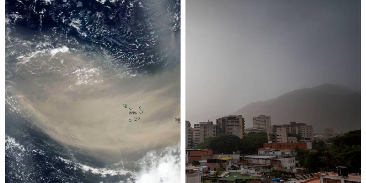 ¿Cómo está el aire en Bogotá tras llegada de arena del desierto del Sahara?