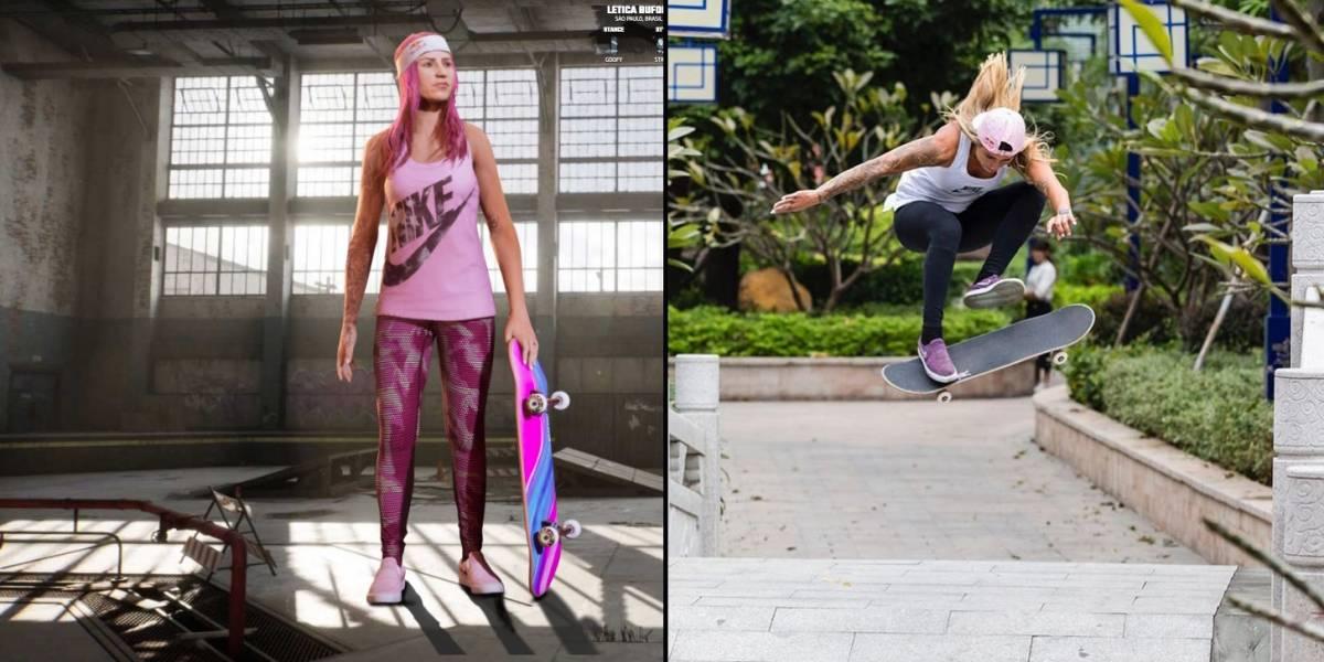 Leticia Bufoni é confirmada em 'Tony Hawk's Pro Skater 1+2'