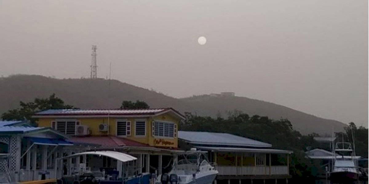 ¡Otro día de bruma! Así amanece Puerto Rico bajo la ola del Polvo del Sahara