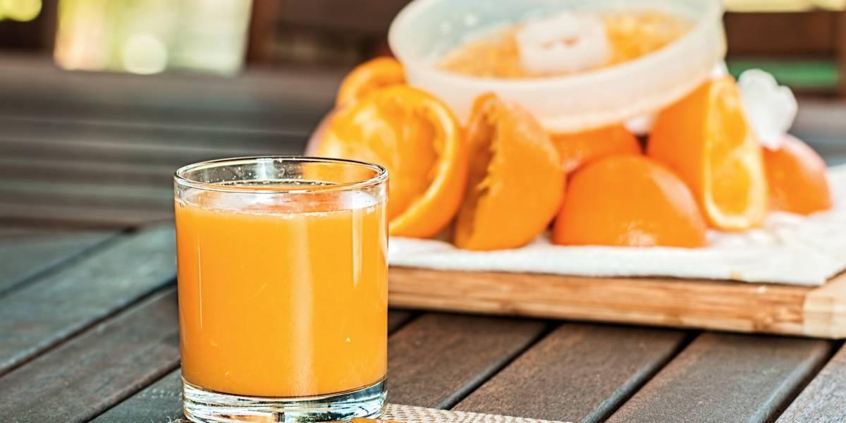 Suco de laranja e cenoura para fortalecer o sistema imunológico