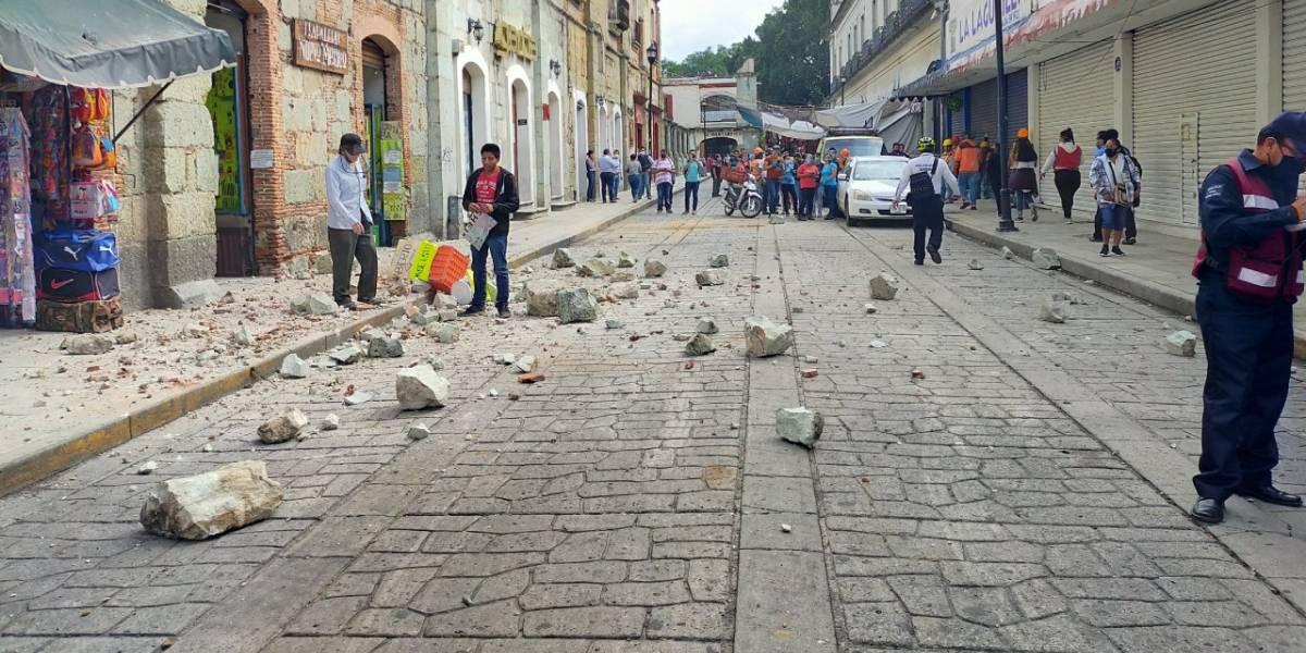 Sismo: estos son los daños que se reportan hasta ahora en México