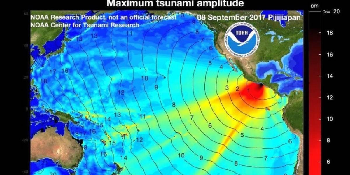 """¡Atención! Ecuador alerta sobre """"peligro inminente"""" de tsunami"""