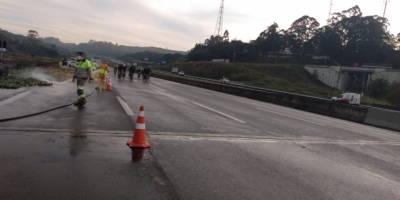 Acidente rodovia dos Bandeirantes