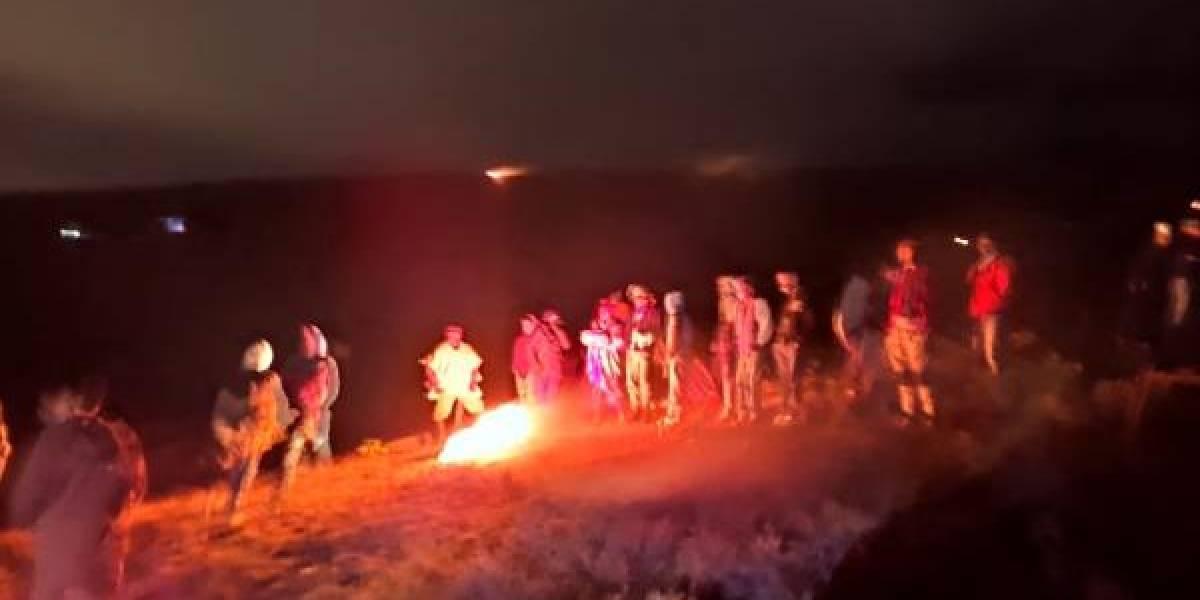 Invasión en Soacha: más de 800 familias se tomaron una montaña