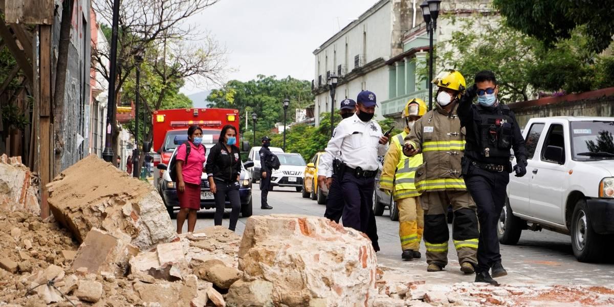 Ascienden a seis fallecidos y 500 casas dañadas por sismo en México