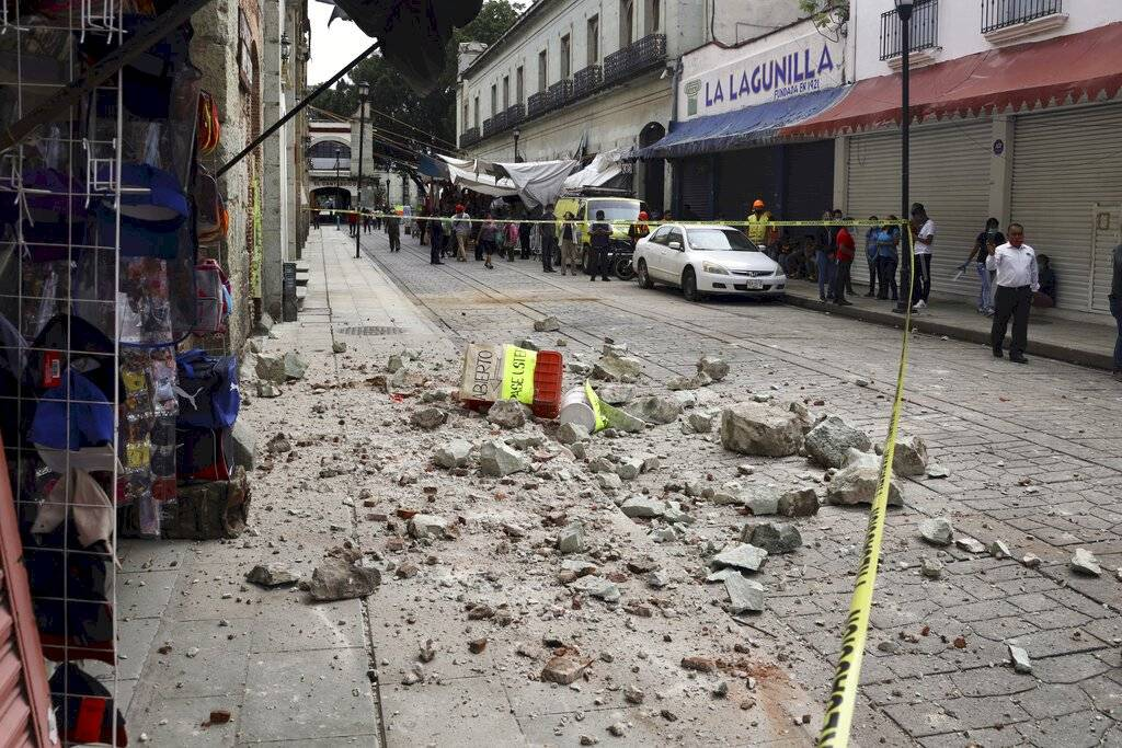 Mexico 2020 earthquake