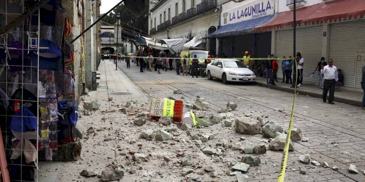 Aumentan a seis los muertos por fuerte sismo en México