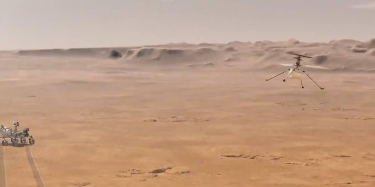 ¿Cómo es el helicóptero que la NASA quiere enviar a Marte?