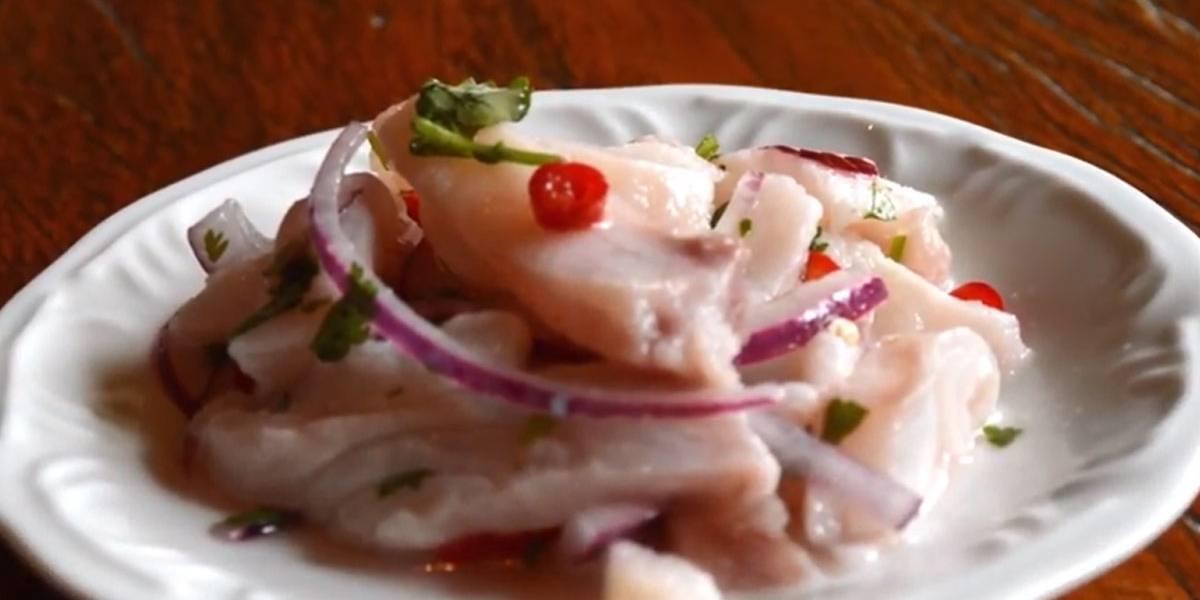 Aprenda a fazer um delicioso ceviche de peixe branco