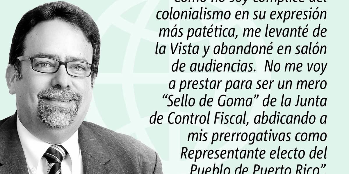 Opinión de Denis Márquez Lebrón: Presupuesto por imposición colonial