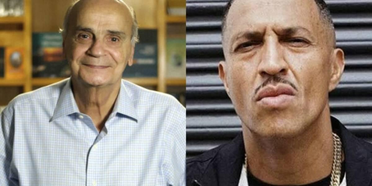 Drauzio Varella e Mano Brown fazem live juntos nesta quarta