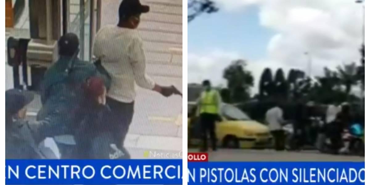 (VIDEO) Testigo registró el escape de película de delincuentes que robaron joyería en Gran Estación