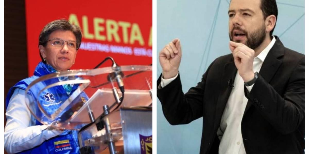 Carlos Galán lanzó fuerte crítica a Claudia López por ola de inseguridad