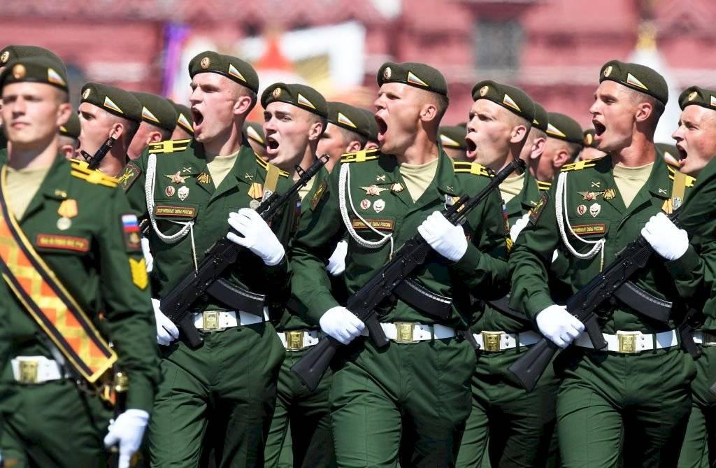 Desfile ruso