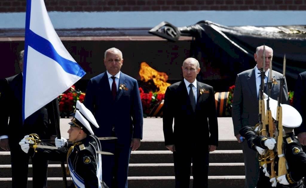 Putin en desfile