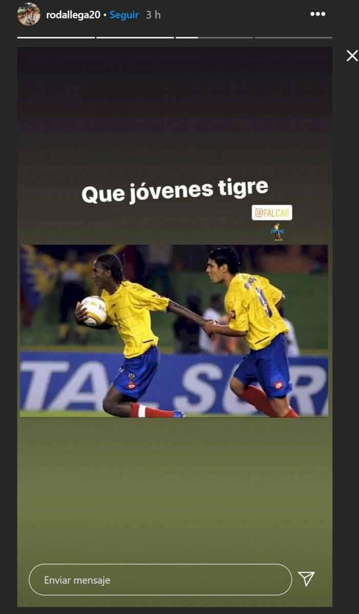 El mensaje de Hugo Rodallega a Falcao García recordó a la selección Colombia Sub-20