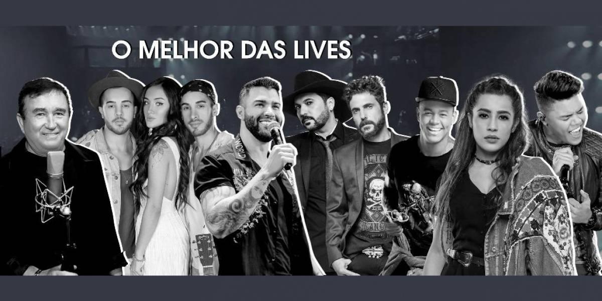 'Música na Band' apresenta o melhor das lives nesta sexta
