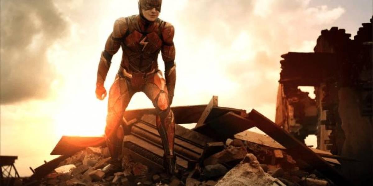 Arrumar a bagunça dos heróis da DC é uma missão para o Flash