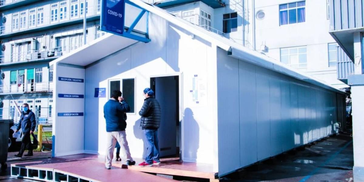 """Hospital Clínico U. de Chile inaugura """"Unidad Crítica Covid"""": cuenta con 25 nuevas camas críticas"""