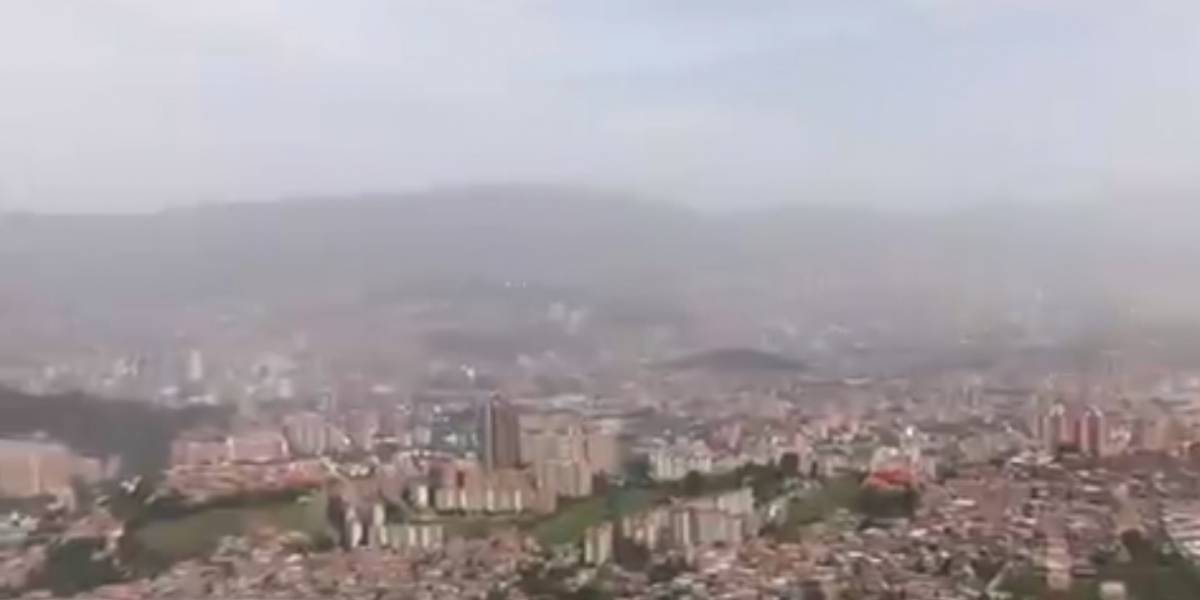 La ciudad colombiana que amaneció cubierta con arena del Sahara